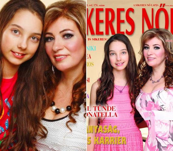 Anya és lánya 2013 májusában együtt szerepelt a Sikeres Nők magazin címlapján.
