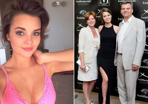 Az 52 éves R. Kárpáti Péter egy szem lánya követte szüleit a színészi pályán: a Jóban Rosszban sorozatban játszik, de a 20 éves szépség modellkedik is, 2013-ban pedig elnyerte a Miss Universe Hungary címet.