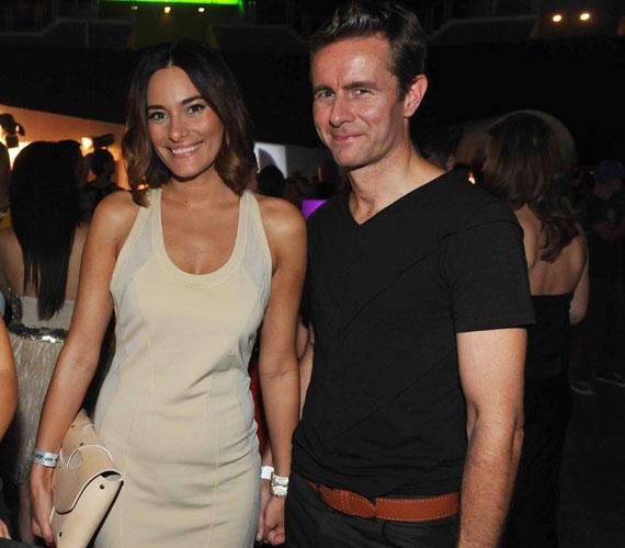 Mióta április elején együtt álltak kamerák elé, Görög Zita már nem rejtegeti a nyilvánosság előtt belga szerelmét, Bjornt.
