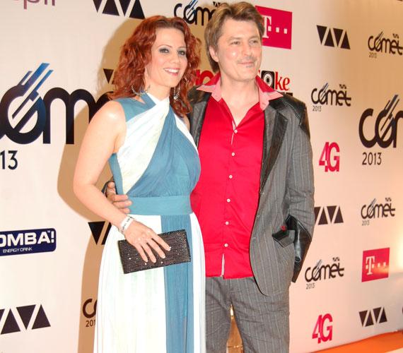 A népszerű színész-énekes házaspár, Polyák Lilla és Homonnay Zsolt is részt vettek a 2013-as VIVA Cometen. A színésznő leckét adott eleganciából.