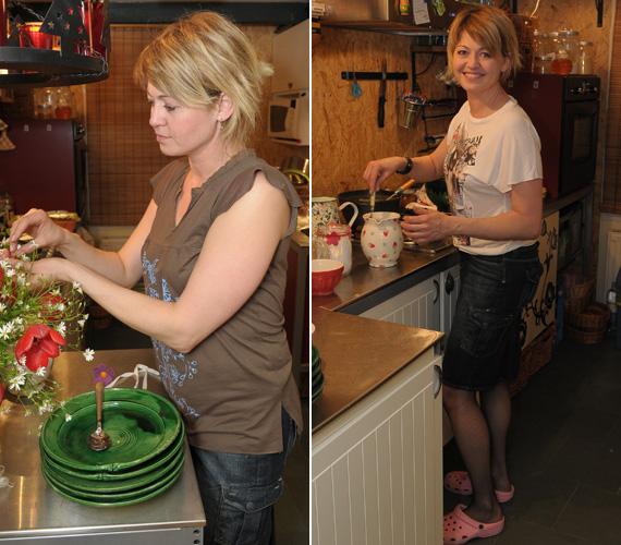 A Vacsoracsata 2008-as adásában egy átlagos háziasszony képét mutatta.