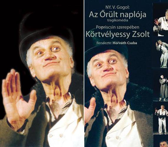 A Jászai Mari-díjas színész az Egy őrült naplójában azt szerepet játszotta, amit sokan máig a színészóriás, Darvas Iván nevéhez kötnek.