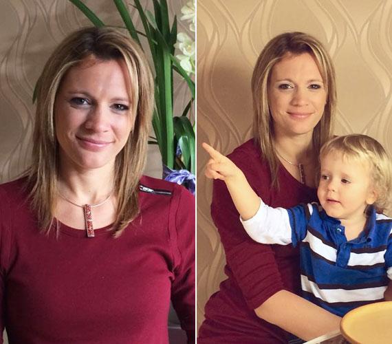 Dominik 2011 júniusában született. Kovács Ági csak az 5. hónapban árulta el, babát vár. Párjával, Gáborral 2010 júniusában a legnagyobb titokban mondták ki az igent, esküvőjükről sokan még a barátok közül is utólag értesültek.