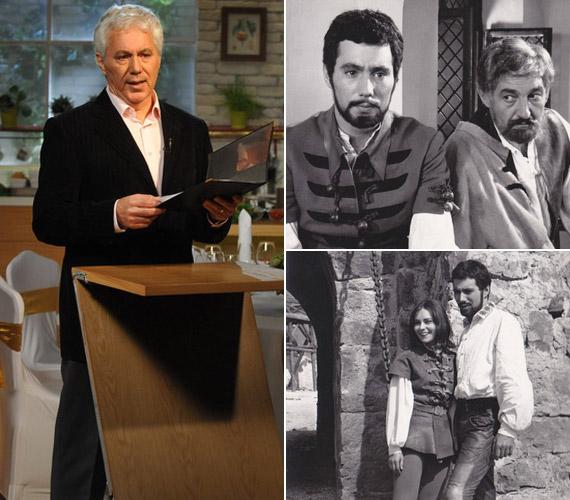 Kovács István a Család-barát magazinban és az 1968-as Egri csillagok című filmben Sinkovits Imre, illetve Venczel Vera oldalán.