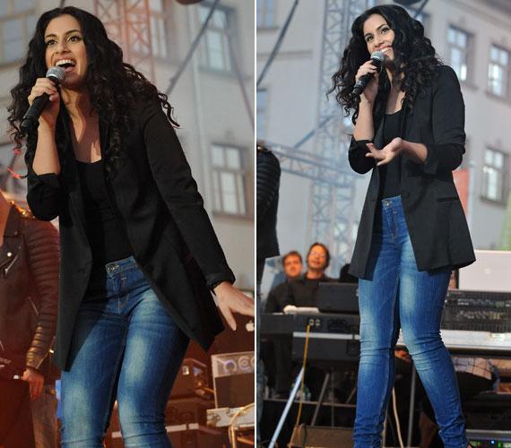 Radics Gigi, a 2012-es Megasztár győztese először lépett színpadra a Szimfonikon.