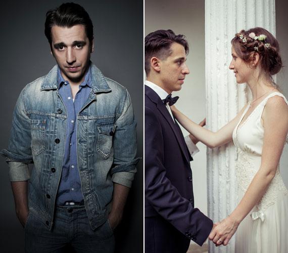 Kovács Lehel és Mórocz Adrien már két éve tervezték az esküvőt, amit idén augusztusban családi és baráti körben meg is tartottak.