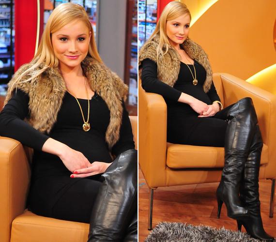 Polgár Krisztina, volt szépségkirálynő négy hónapos terhesen január végén hozta nyilvánosságra, hogy első gyermekével, egy kisfiúval várandós.
