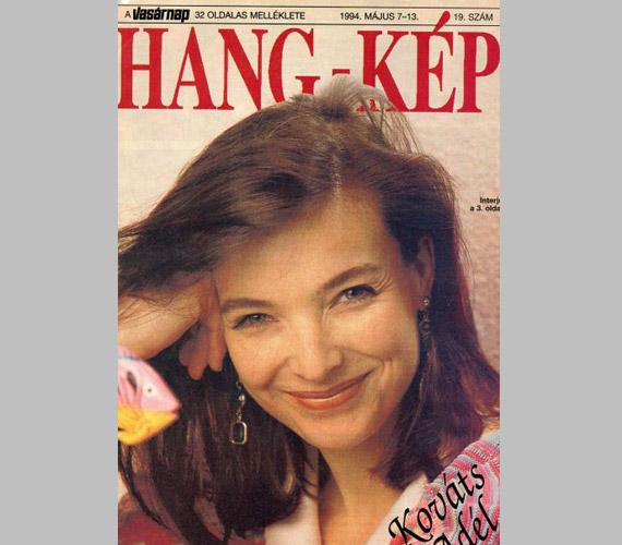 Kereken 20 évvel ezelőtt a Hang-Kép 1994 májusában megjelent címlapján.