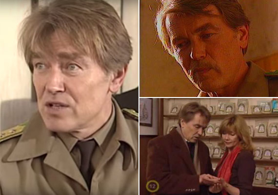 Az idősebb Kozák András szerepeiből sokaknak valószínűleg a Kisváros című sorozat Barna ezredese ugrik be, akit 1993 és 2001 között alakított.
