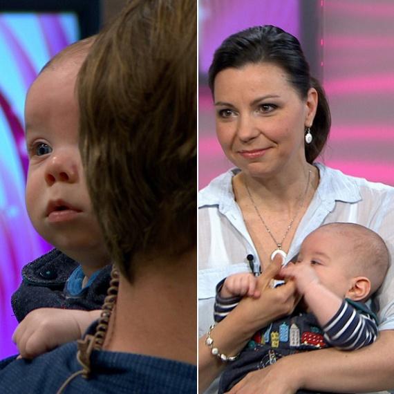 Lajtai Kati énekesnő négy hónapos kisfia beszélgetés közben kicsit nyűgös lett, ezért Mátét átvette a műsorvezető, Kinter Oszkár, akinek a kezében rögtön megnyugodott.