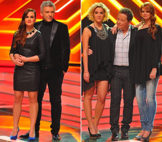 A vasárnapi műsorban Alföldi Róbert hozzáöltözött mentoráltja bőrruhájához, míg Geszti versenyzői egymással hangolták össze öltözetüket.