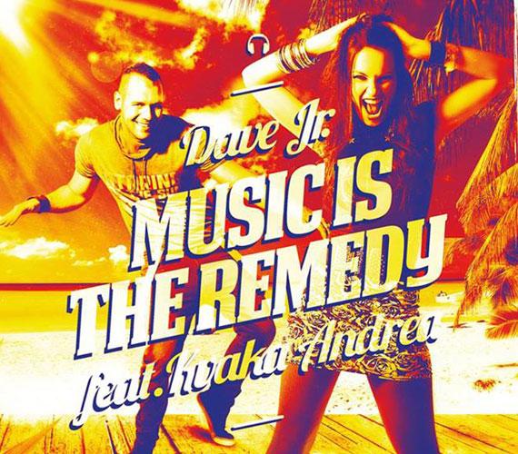 A lemezlovas Dave Jr-ral elkészült első közös daluk, a Music is the Remedy. A klipet Horvátországban, Novaljában forgatták.