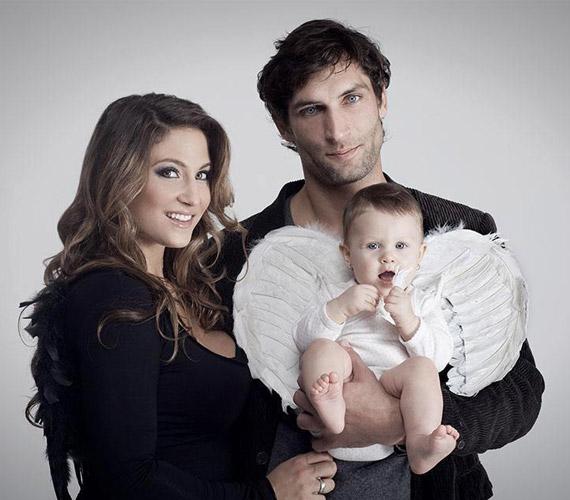 Európa legszebb lánya öt kilót fogyott terhessége elején.