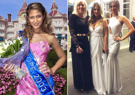Miss Europe volt 12 évvel ezelőtt, a hétvégén a zsűritagok között foglalt helyet, csakúgy, mint Balogh Viktória, a Felvidék Szépe 2015 cím birtokosa - jobb oldalon.