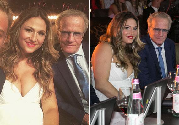 Július elején a Miss Universe Hungary döntőjében zsűritag volt, mint Christopher Lambert francia színész és producer.