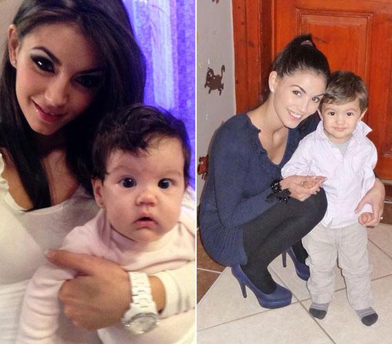 Szorcsik H. Viki, a Jóban Rosszban egykori szereplője 2013. szeptember 20-án a kétórás újszülött, Zara fotóját a Facebookon osztotta meg, és azóta is lelkesen tesz közzé kislányáról képeket. A 2012 februárjában született Andriskáról sem feledkezik meg.