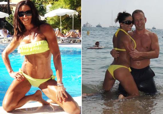 Rubint Réka mindent megtesz azért, hogy kisportolt legyen a teste, amit szívesen meg is mutat egy-egy bikiniben.