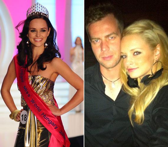 Dobó Ági, a 2010-es Miss World Hungary szeptemberben hozza világra első gyermekét. Szerelmével három és fél éve van együtt, és ugyan nem tervezték a babát, nagyon boldogok, hogy hamarosan szülővé válnak.