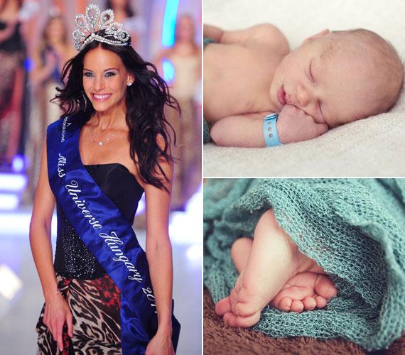 Lipcsei Betta, a 2011-es Miss Universe Hungary május 4-én-én adott életet első gyermekének, Krisztiánnak. Párjával több, mint négy éve alkot egy párt, és már régóta tervezték a babát.