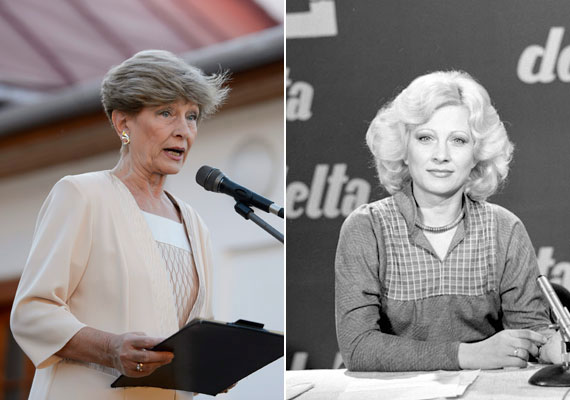 Kudlik Júlia a nyolcvanas évek közepén a legendás Delta című műsorban. A műsort 1965-től egészen 1996-ig vezette, emellett a köztévénél eltöltött évtizedek alatt számtalan emlékezetes műsornak volt szerkesztője és vezetője.