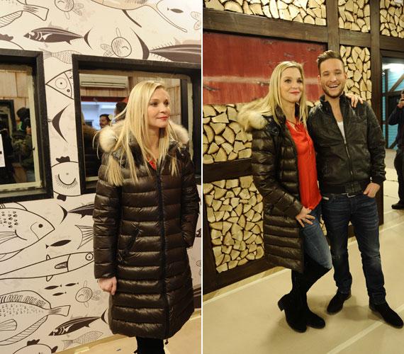 Lilu már javában készül műsorvezetőtársával, Istenes Bencével a ValóVilág 6-ra, amely január 12-én, vasárnap indul az RTL II-n.