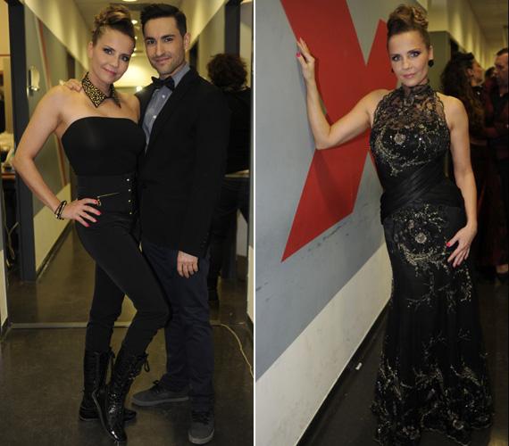 Bálin Antónia, a műsor első kiesője ugyancsak megmutatta vagány és elegáns oldalát is.