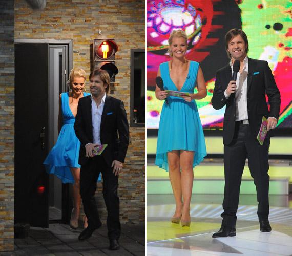 Az RTL Klub műsorvezetője, Lilu Sebestyén Balázzsal vezette a Való Világ vasárnapi döntőjét.