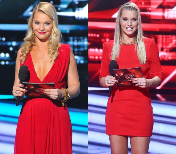 Ráadásként két piros ruha: a földig érő estélyihez a nézők szerint nem elég teltek Lilu mellei, így nem állt neki jól, a testhezálló piros miniruha viszont tökéletes választás volt.