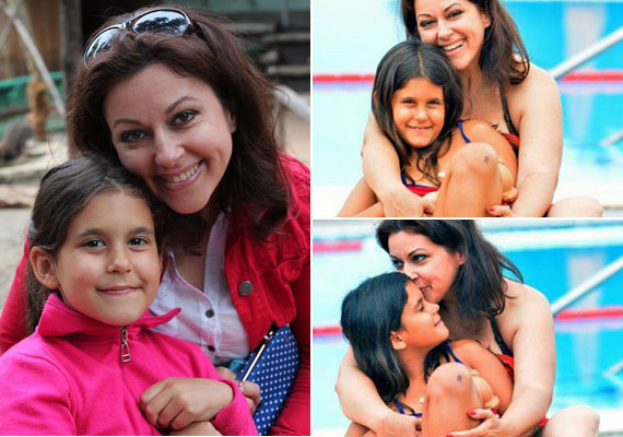 Erdélyi Mónika nagyobbik lánya, Viki már elmúlt 20 éves, míg a kisebbik, Olívia ősszel töltötte be a nyolcadik életévét.