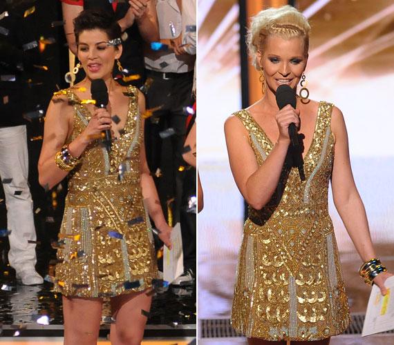 A 2012-es Csillag Születik fináléja azért is volt emlékezetes, mert a két műsorvezető, Ördög Nóra és Lilu többször is ruhát cseréltek - többek között arany miniruhában is láthattuk őket.