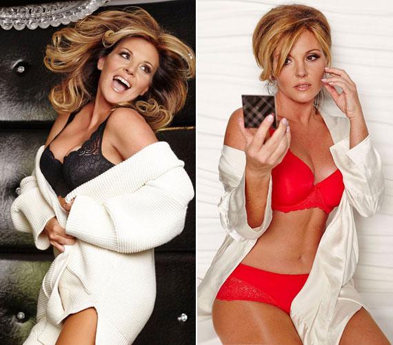 Szexi fekete vagy tüzes piros, a TV2 42 éves műsorvezetője mindegyik színben észbontóan szexi.