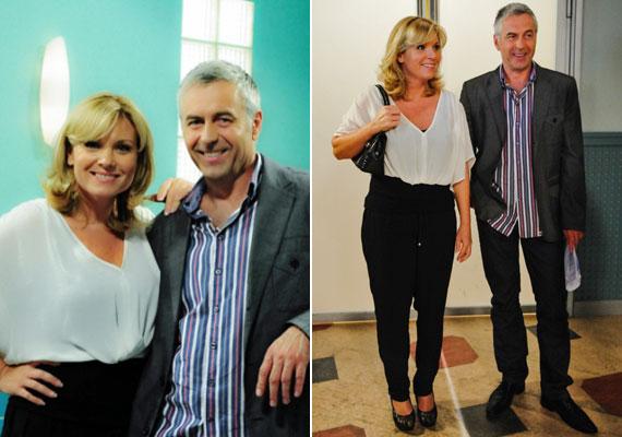 Az első nyilvánosságra került jelenetfotókon természetesen a dr. Pongrácz Pétert alakító Gazdag Tiborral látható, akivel egy párt alkottak, de az orvos már Mónika nővérrel kezdett új kapcsolatot.