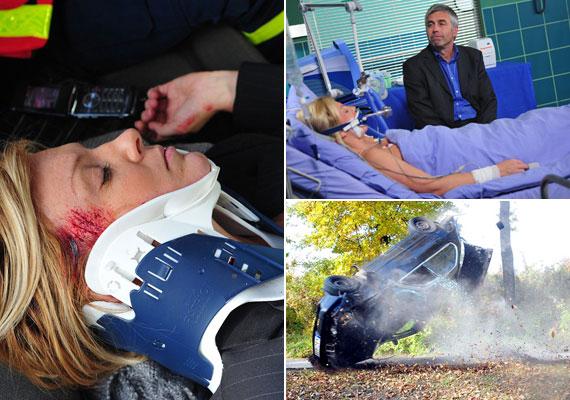 Zámori Alexa egy súlyos autóbaleset után esett kómába. A producer szerint a történet most ért oda, hogy Liptai karaktere úgy térhet vissza, hogy kellően felforgassa egy-két ember életét.