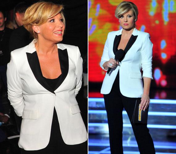 A fekete és a fehér az egyik legpraktikusabb, mindig divatos színösszeállítás.