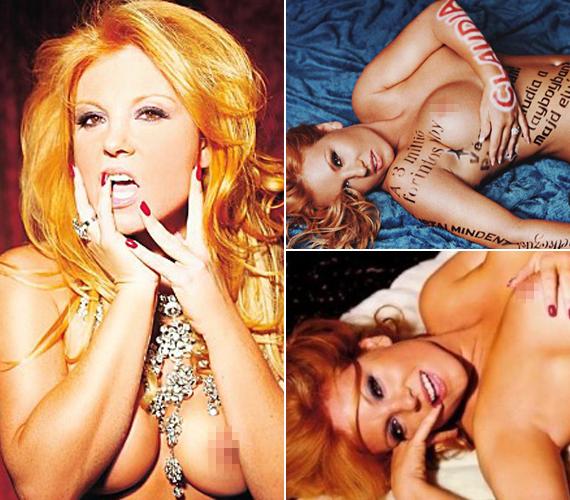 Kétszer is szerepelt a Playboyban, ahol bizony használtak retust is a képeihez.