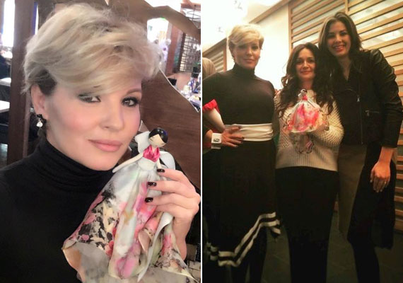 A TV2 két műsorvezetője, Liptai Claudia és Ördög Nóra is örökbe fogadtak, a választásuk egy Benes Anita által tervezett babára esett.