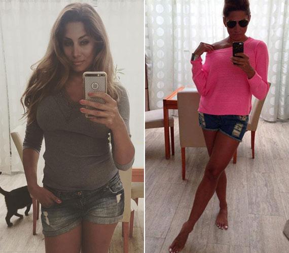 A 36 éves Horváth Éva még mindig az egyik legkeresettebb hazai modell - nem véletlenül. Nőies alakja és formás lábai bármilyen nadrágban remekül mutatnak.