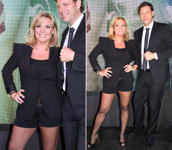 Liptai Claudia ismét megmutatta a dögös énjét Till Attila oldalán, aki természetesen a Mr és Mrs harmadik szériájában is a műsorvezetőtársa lesz.