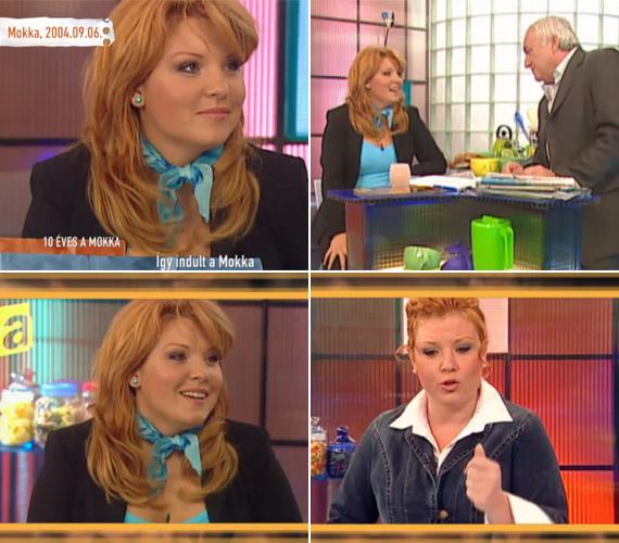 Liptai Claudia tíz évvel ezelőtt még vörös hajkoronával szerepelt a képernyőn. Havas Henrikkel felejthetetlen párost alakítottak, gyakran a nézők előtt vesztek össze.