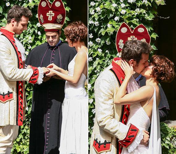 - Igazi esküvőn még egyáltalán nem gondolkodtunk, korai lenne, de több mint fél éve szeretjük egymást és boldogak vagyunk együtt, így később még bármi megtörténhet - árulták el.
