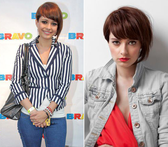 Sokáig ilyen rövid frizurát hordott, mint egyszer mondta, Victoria Beckham stílusa ihleti meg leginkább.