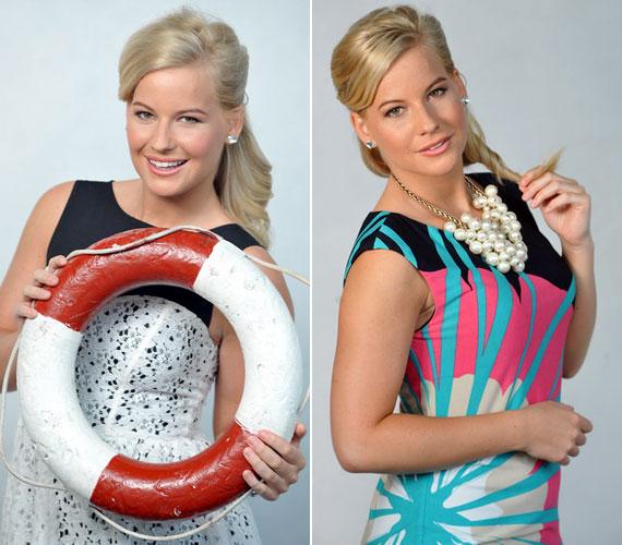 Az RTL Klubtól átigazolt Mádai Vivien május 3-án Harsányi levente oldalán debütált az M1-en a Legenda című műsorban. A csinos szőke műsorvezető számára a fekete-fehér ruha mellett egy-egy színes darab is remek választás.