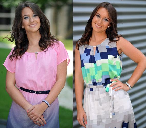 A 22 éves Rátonyi Krisztina a köztévé új műsorvezetője. A Balatoni Nyár előtt már a Noé barátai című műsort is vezette. A barna hajú, kreol szépségnek remekül állnak a színes, lenge nyári ruhák.