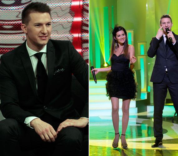 A TV2 tehetségkutatójának egyik döntőse, Gájer Bálint a Group'N'Swing zenekarral állt színpadra.