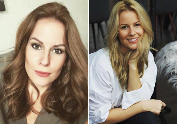Mádai Vivien, az MTVA műsorvezetője szőkéről barnára váltott - ma délután a bal oldali képpel lepett meg mindenkit.