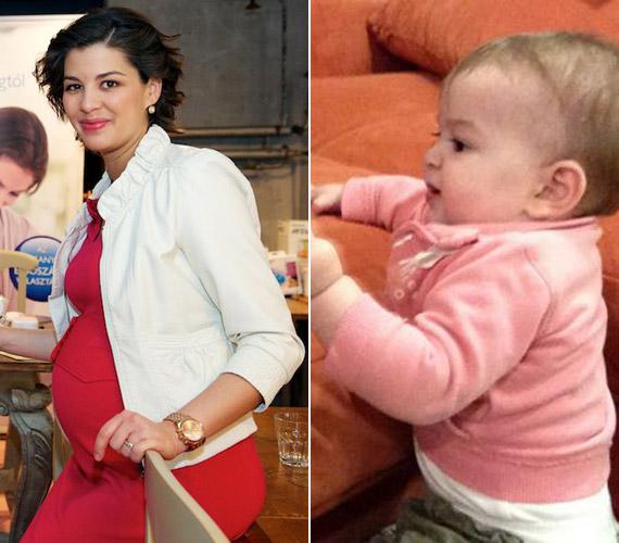 A tavalyi év egyik legjobban várt tévés babája Ördög Nóra kislánya volt. Az RTL Klub műsorvezetője május 6-án adott életet Micinek.