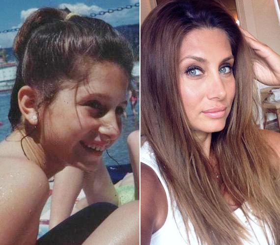 Horváth Éva a saját weboldalán mutatott meg néhány gyerekkori fotót, a strandolós képen is megmutatkozott már a műsorvezető szépsége. A 35 éves tévés gyakran posztol magáról képeket a Facebook-oldalán, a rajongói nagy örömére.