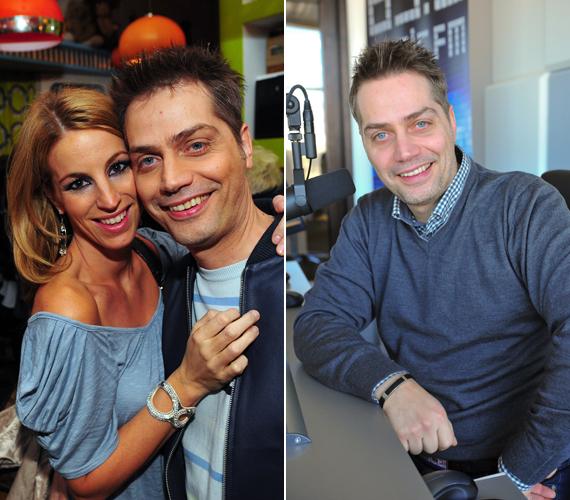 Harsányi Levente 2007-ben ismerte meg a feleségét, Ágit, akivel már van egy közös kisfiuk is.