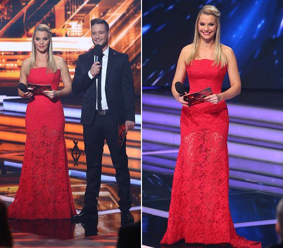 Lilu gyakran viselt miniszoknyát az X-Faktor élő adásaiban, de a 2013-as döntőben egy vörös csipkeestélyiben kápráztatta el az RTL Klub tehetségkutatójának közönségét.