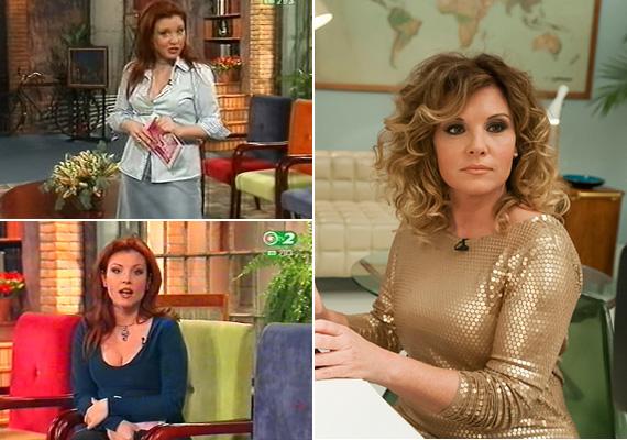 """Liptai Claudiának Majka a 2001 és 2003 között futó Claudia Show-ból mutatott részleteket, ahol a népszerű műsorvezetőnő még vörös hajjal vitte a műsort. A ma már 41 éves tévésnek remekül áll a mostani szőke haj, és a ruházkodásában is érezhető, hogy rátalált a saját stílusára. """"Hogy mertem felvenni egy ilyen ruhát, hát hogy! És hogy mertem ilyen színű hajjal... hát hogy lehetett ilyen hajam! Na, mindegy"""" - kommentálta Claudia a bejátszást."""